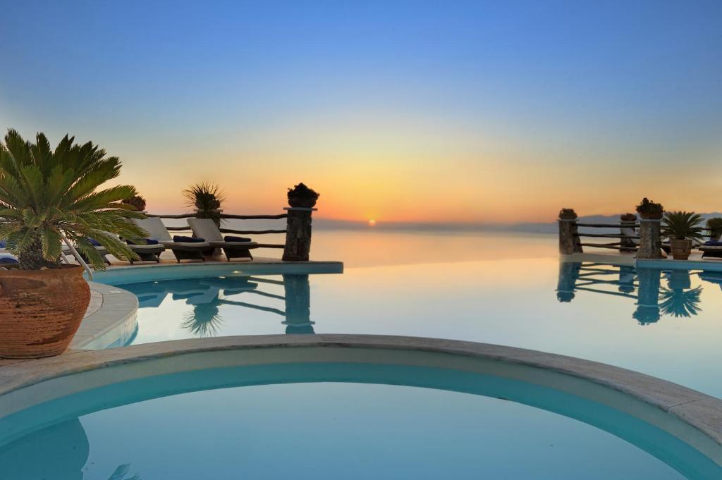The swimming pool at or near Creta Blue Boutique Hotel