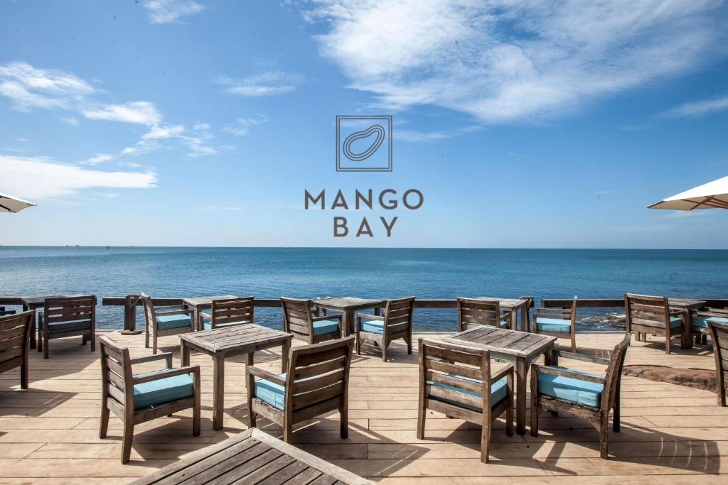 A restaurant or other place to eat at Mango Bay Resort