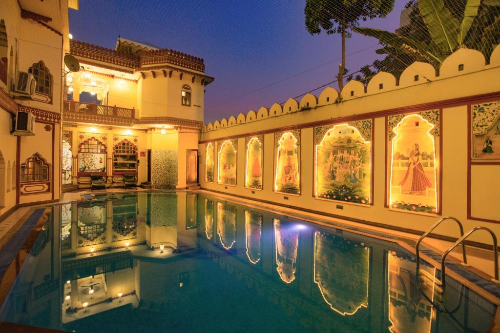 The swimming pool at or close to Umaid Bhawan - Heritage Style Hotel