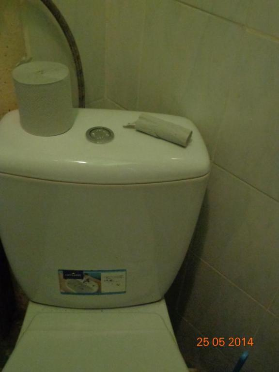 A bathroom at Apartment on Khorvatska