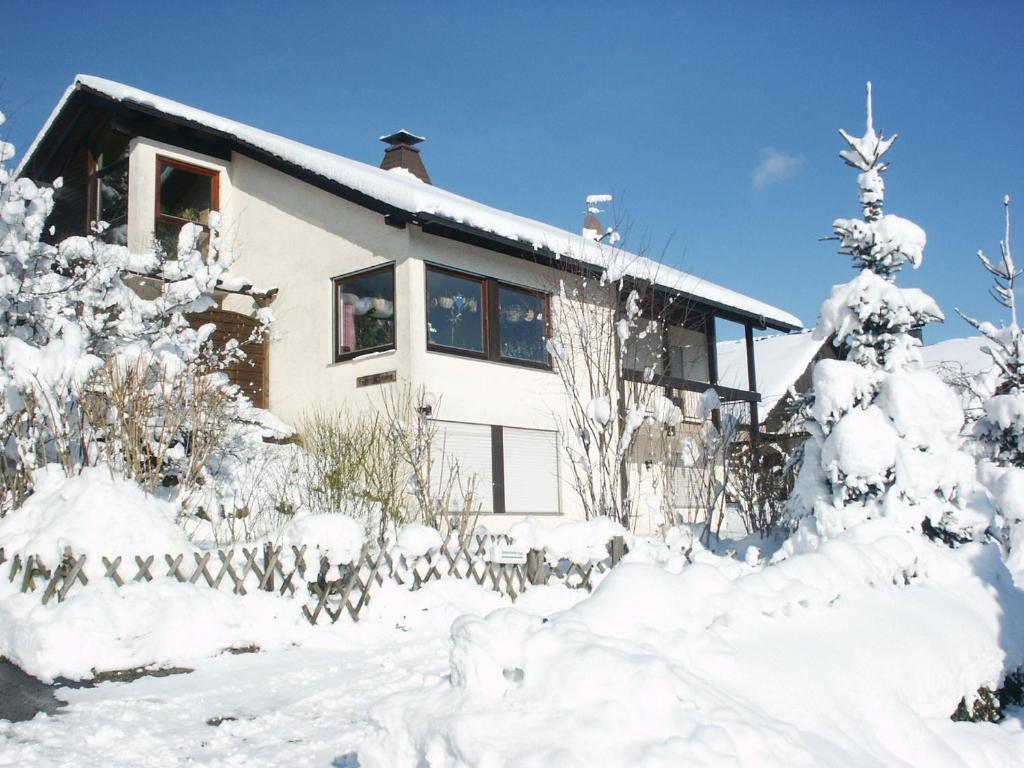 Haus Reiser im Winter