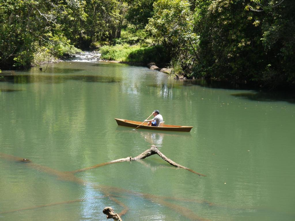 Canoeing at the vacation home or nearby