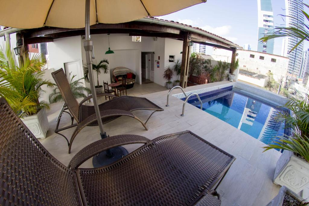 The swimming pool at or close to Vivaz Boutique Hotel