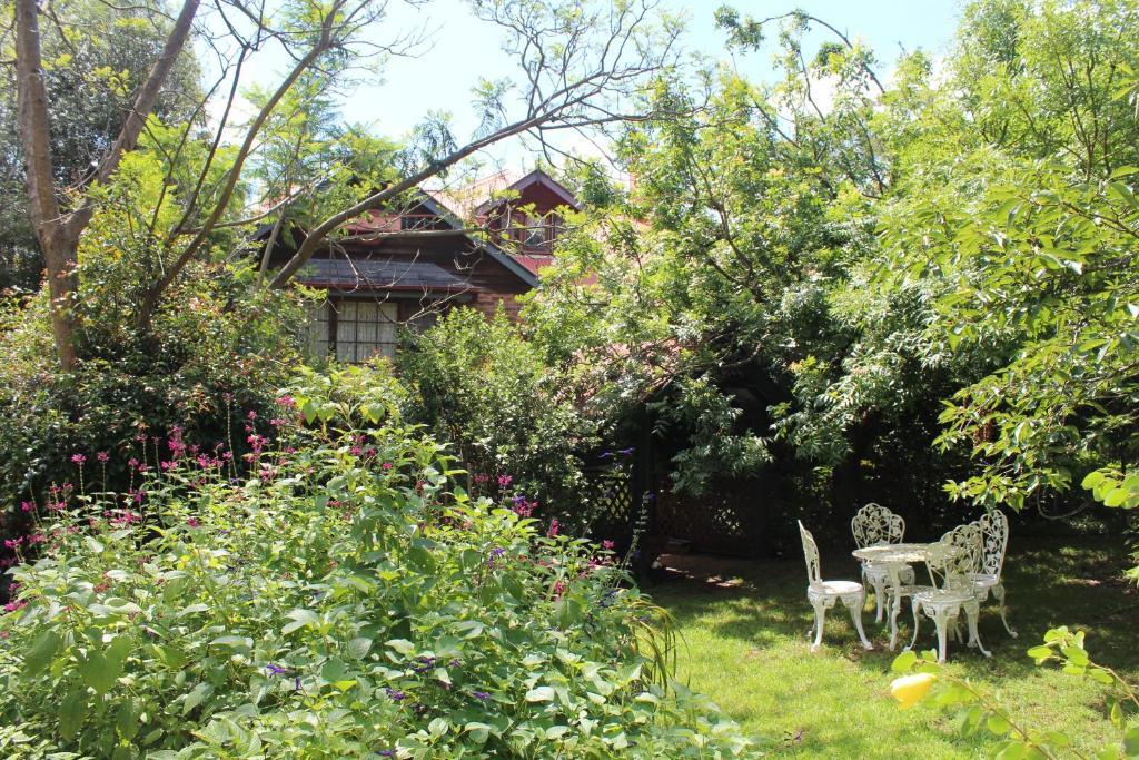 A garden outside Storey Grange