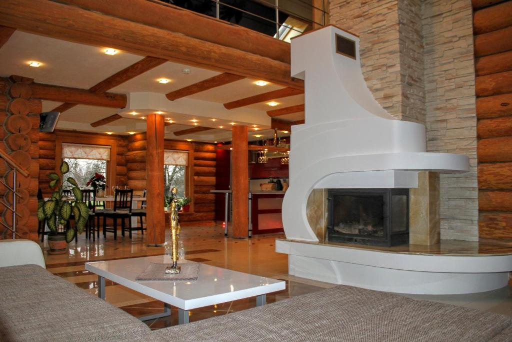 The lounge or bar area at Jost Residence