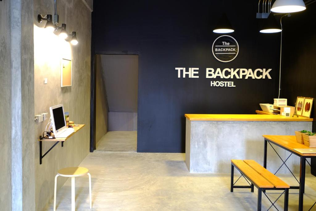 Hall o reception di The Backpack Hostel