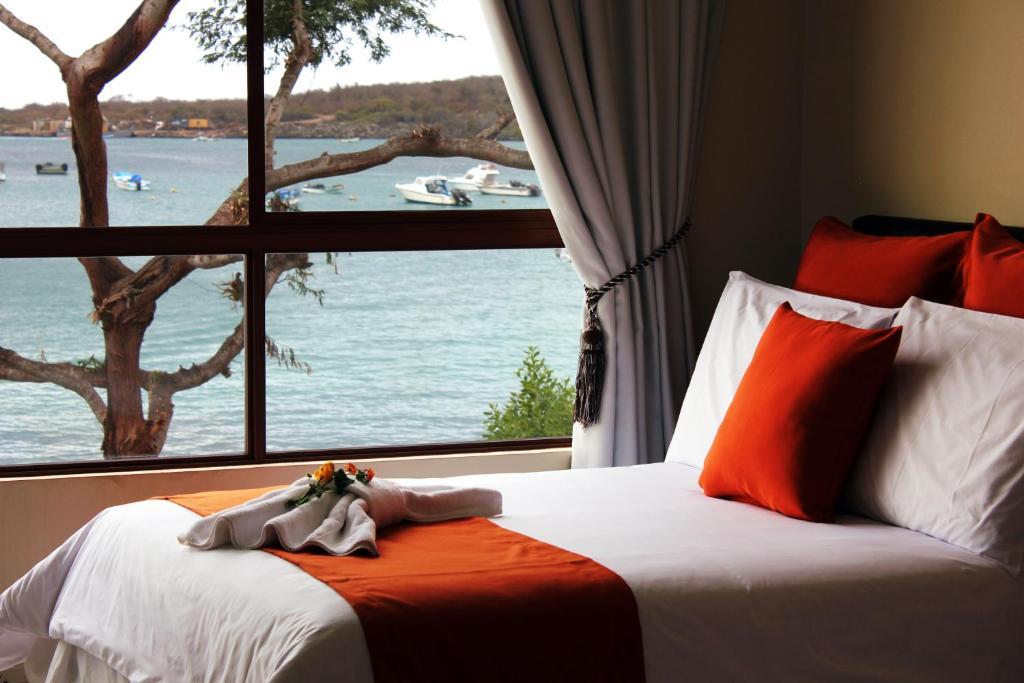 Cama o camas de una habitación en La Zayapa