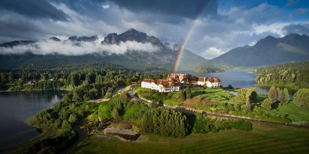 Llao Llao Resort, Golf-Spa с высоты птичьего полета