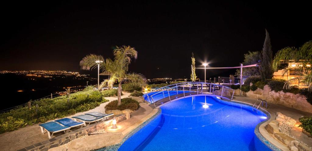 A view of the pool at Oceania & Panorama Villas or nearby