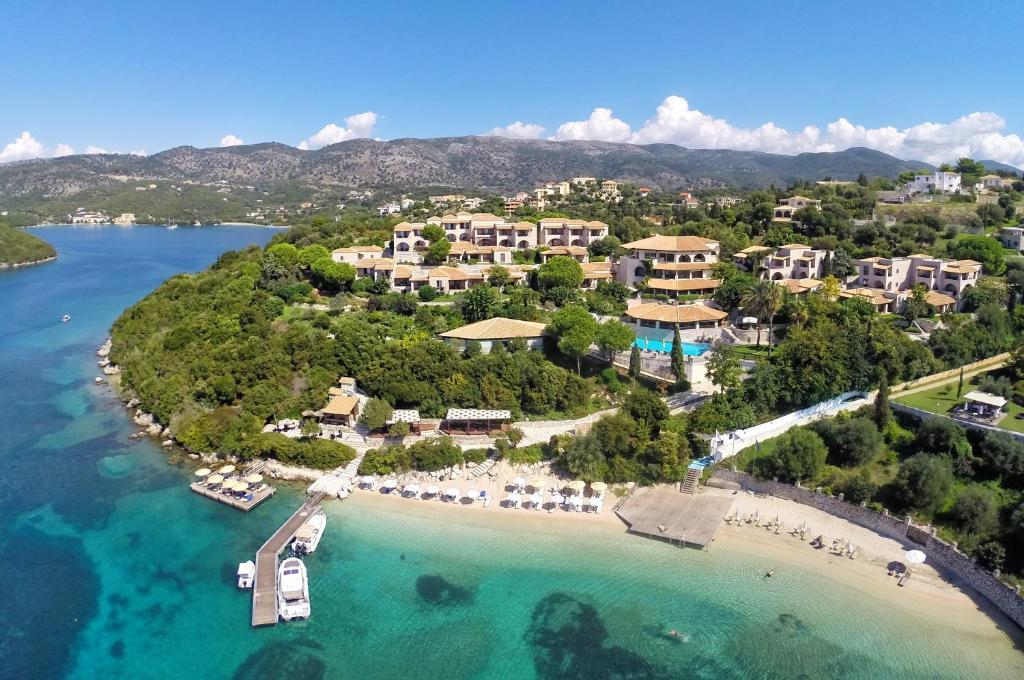 Άποψη από ψηλά του Domotel Agios Nikolaos Suites Resort