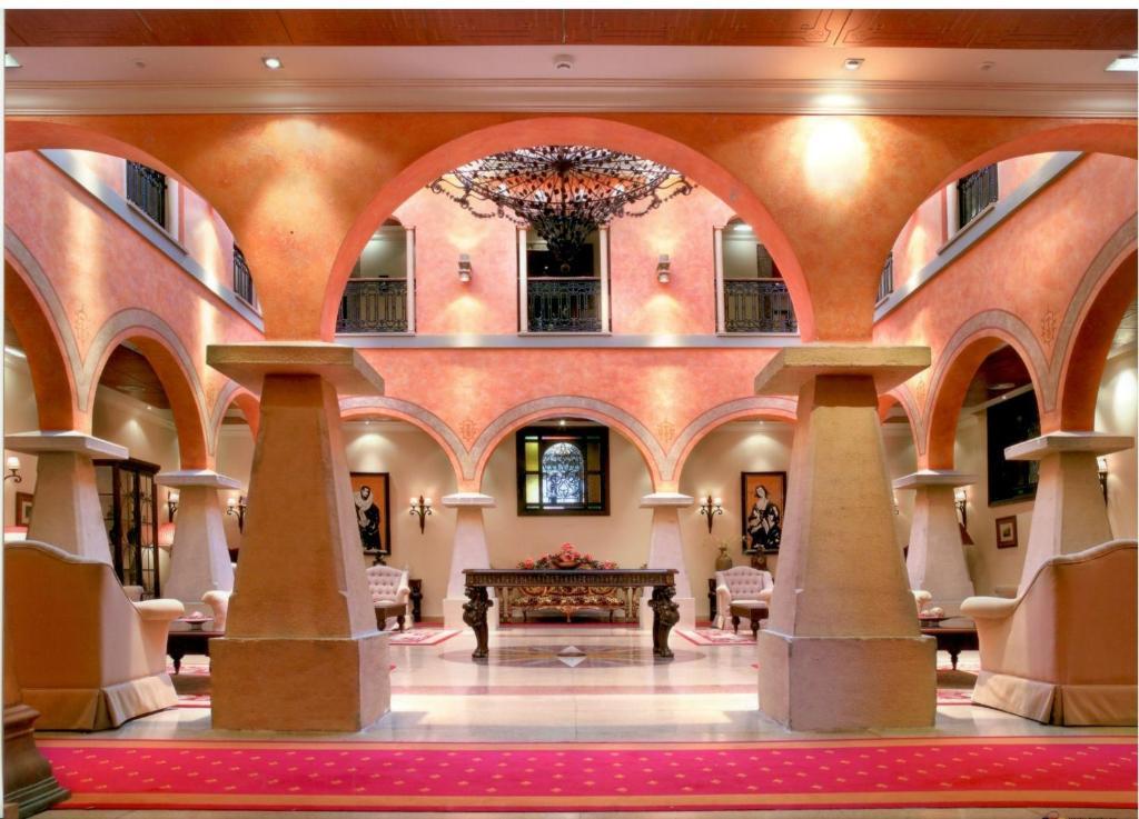 The lobby or reception area at Hotel Palacio de la Magdalena