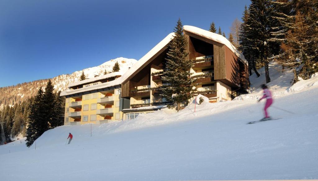 Haus Hoffmann im Winter