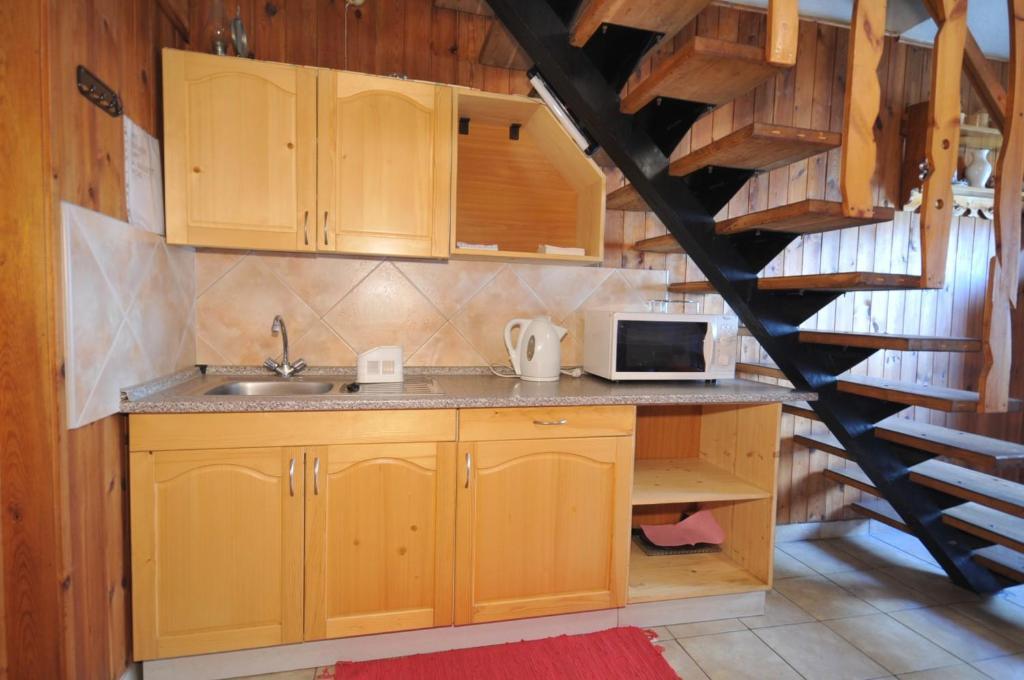 Kuchyň nebo kuchyňský kout v ubytování Holiday Home Sokol