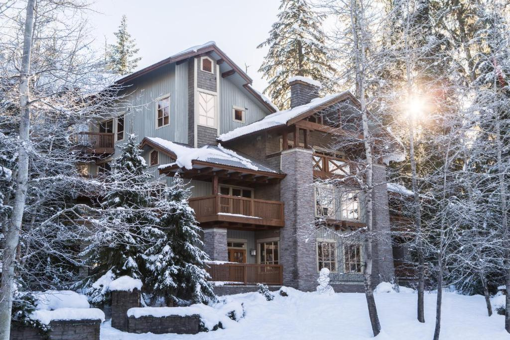 Horstman House by Whistler Premier during the winter