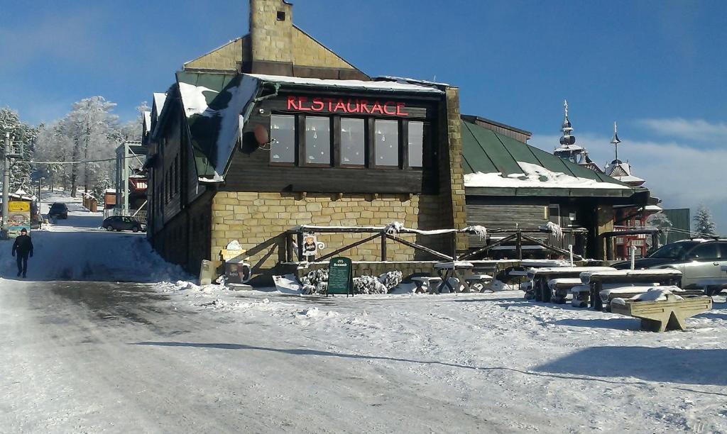 Chata Šumná v zimě