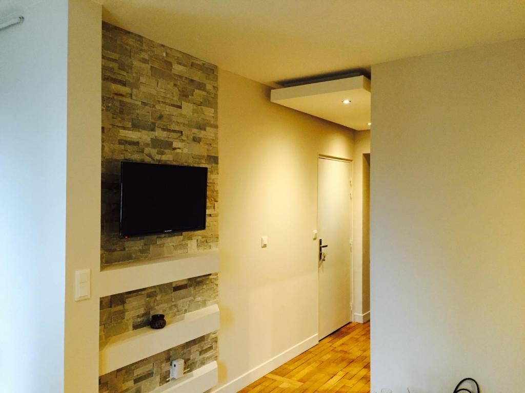 A television and/or entertainment center at F2 Cosis Nancy