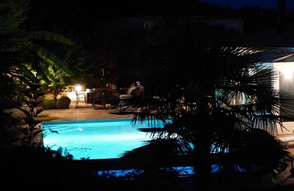 A view of the pool at Le Chai or nearby