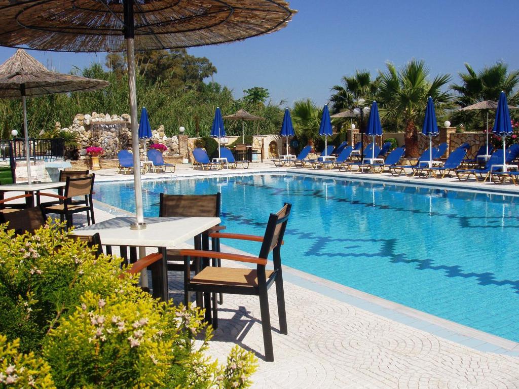 Πισίνα στο ή κοντά στο Paradise Apartments