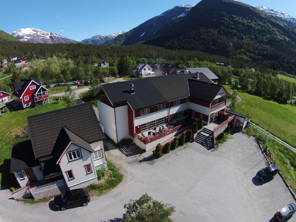 A bird's-eye view of Jostedal Hotel