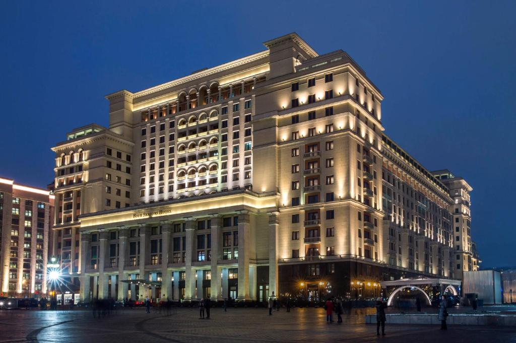 The Four Seasons Hotel Moscow, one of the hotels near Red Square.