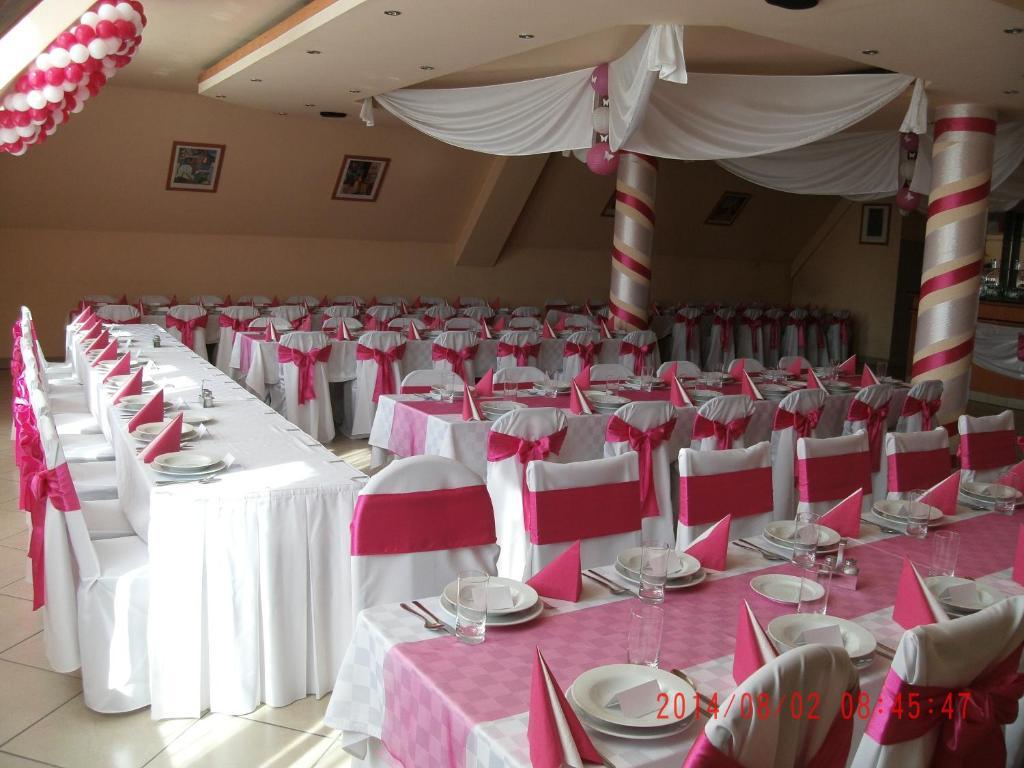 Banquet facilities at a panziókat