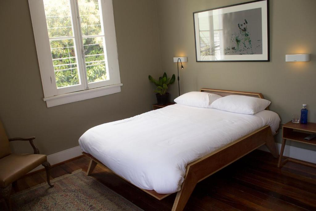 Cama o camas de una habitación en Pasta e Vino B&B