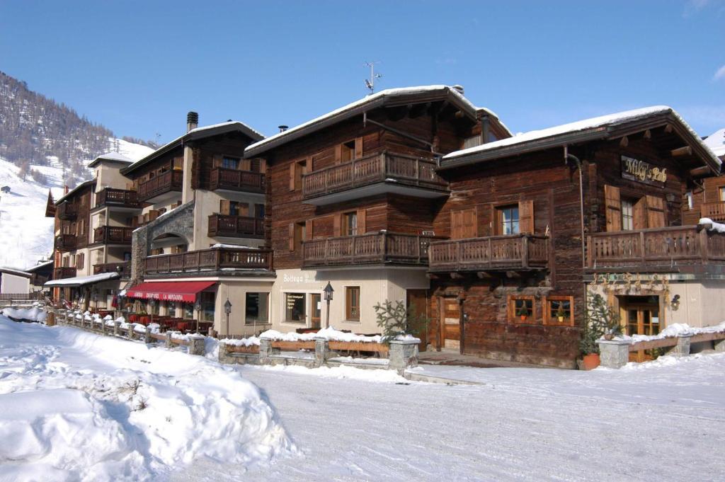 Hotel La Montanina durante l'inverno