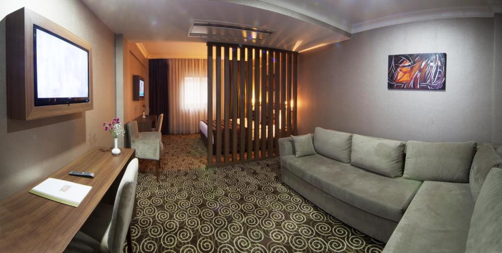 Гостиная зона в Delta Hotel Istanbul