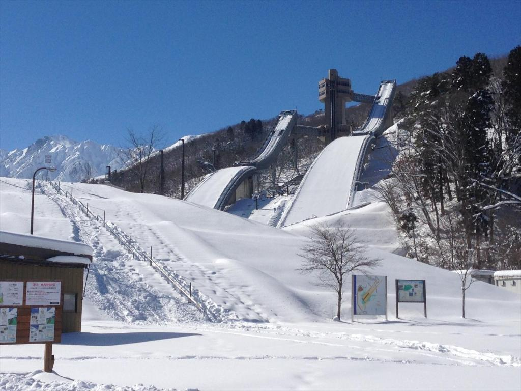 Holiday Cottage Green Valley Hakuba during the winter