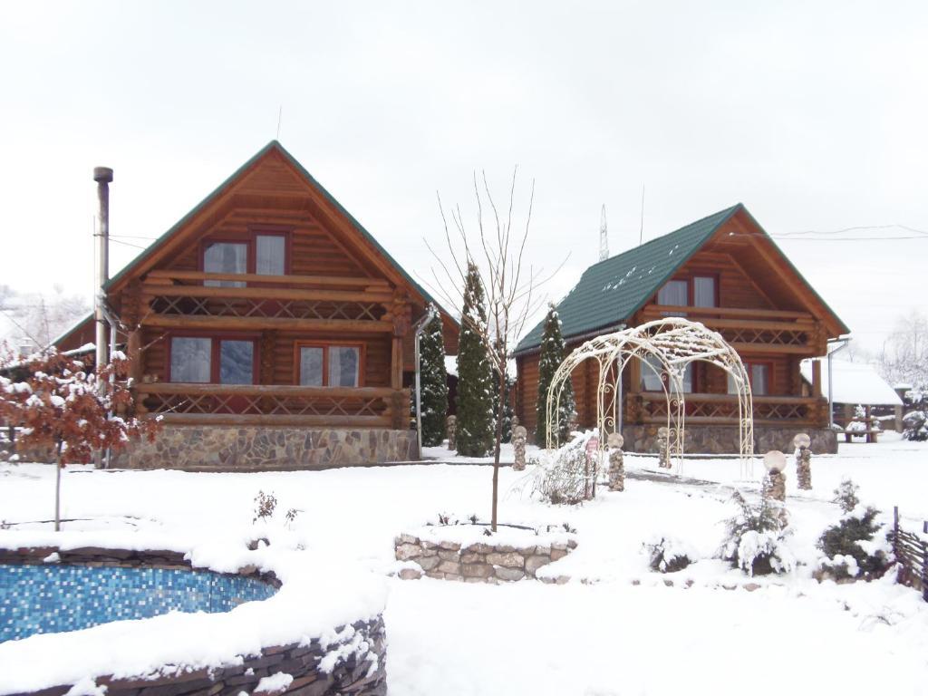 Tourist complex Karina during the winter