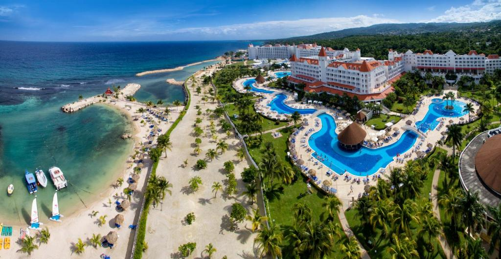 A bird's-eye view of Bahia Principe Luxury Runaway Bay - Adults Only All Inclusive