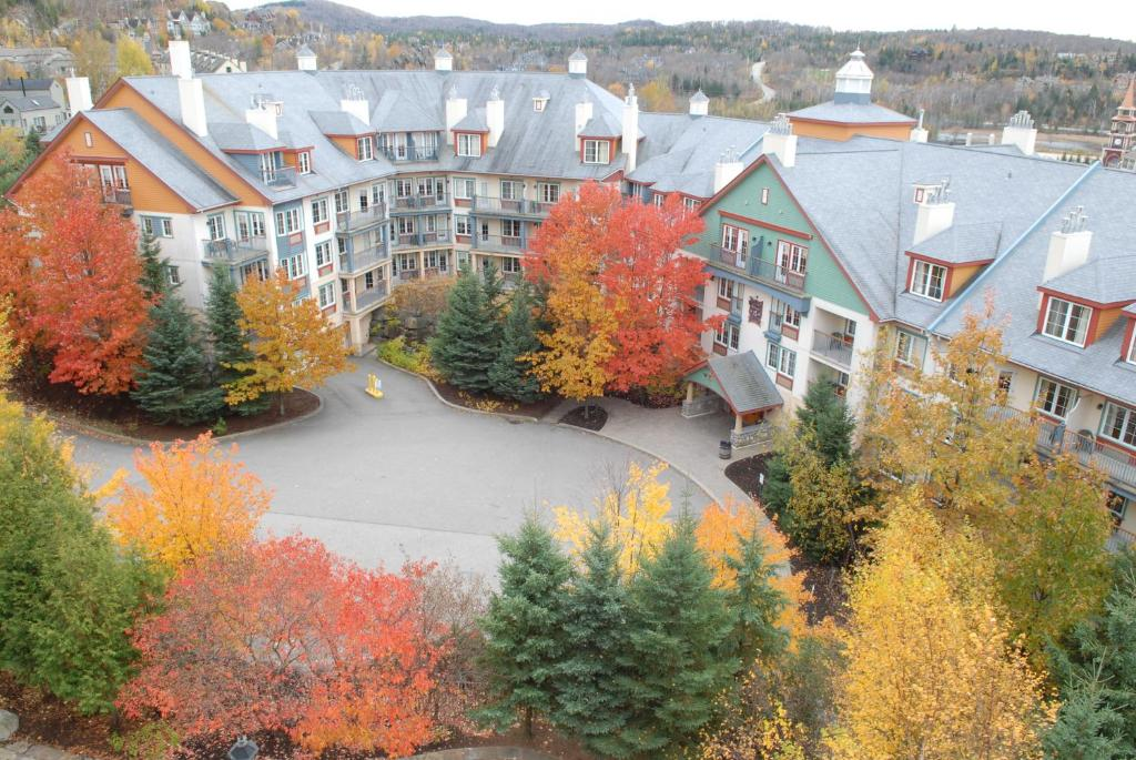 A bird's-eye view of Lodge de la Montagne