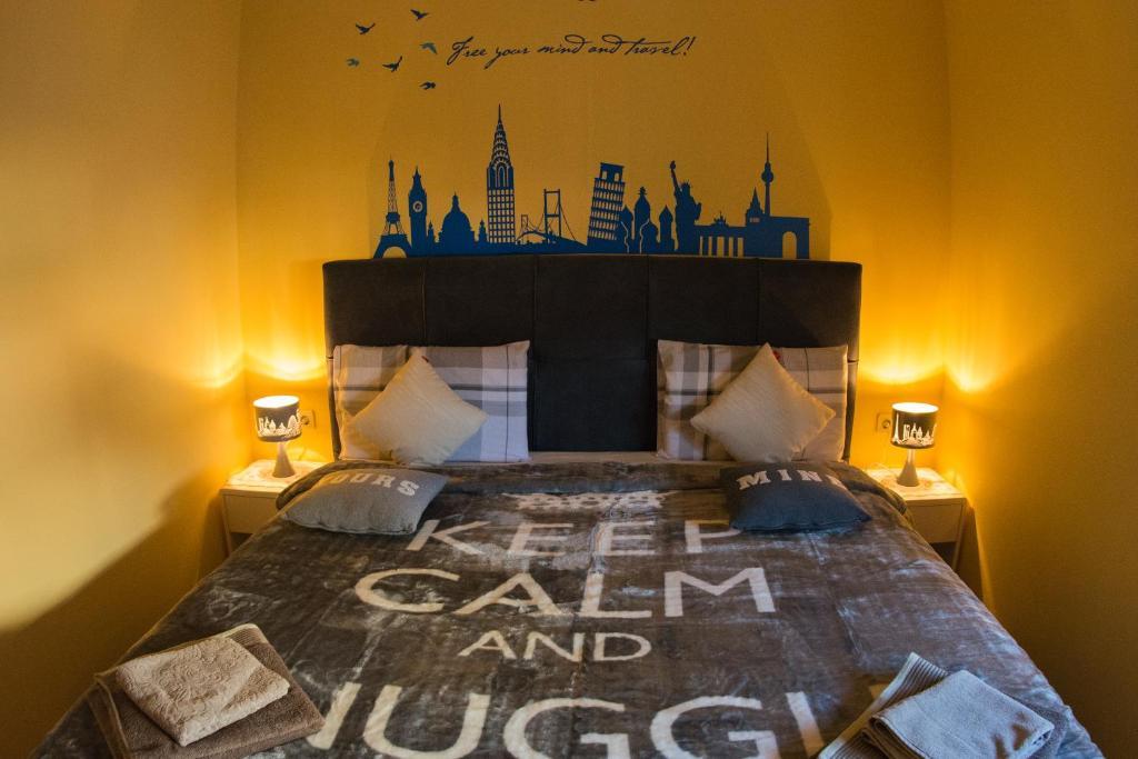 Krevet ili kreveti u jedinici u objektu Apartment Giro