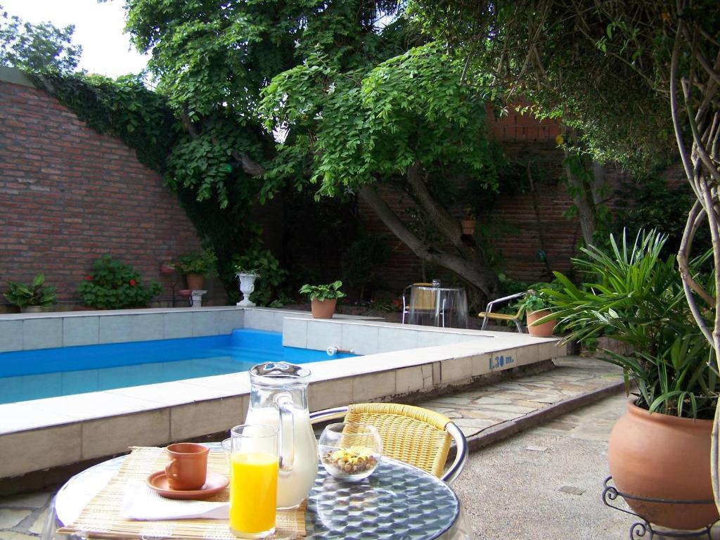 The swimming pool at or near Hotel Casa La Teresita