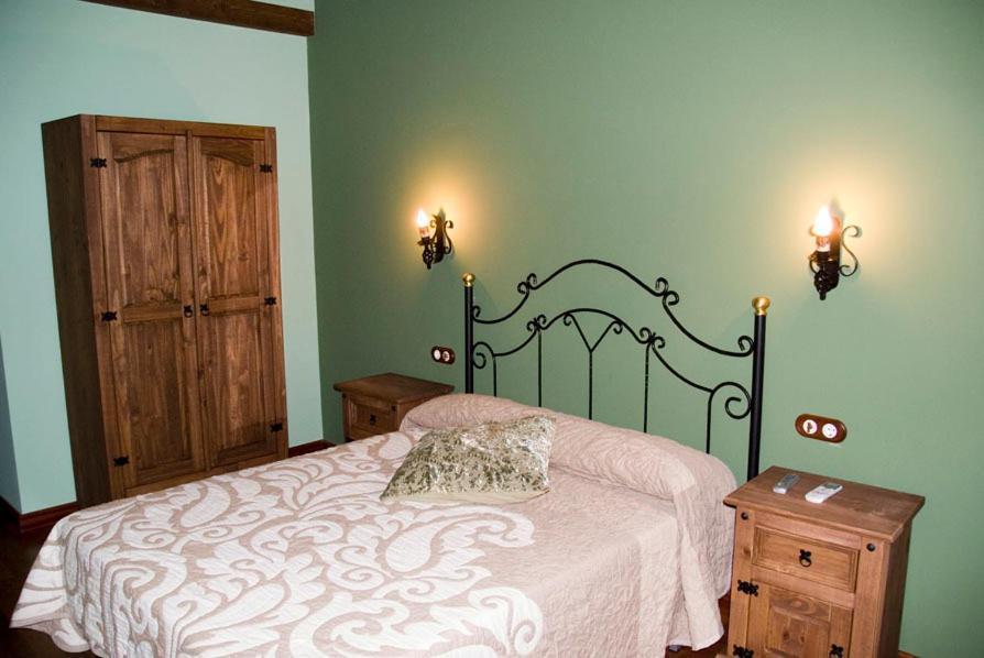 Cama o camas de una habitación en El Rincon Del Villar
