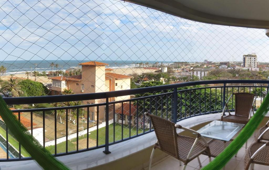 Uma varanda ou terraço em Beach Village Residence