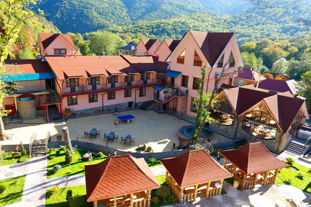 A bird's-eye view of Abago Hotel