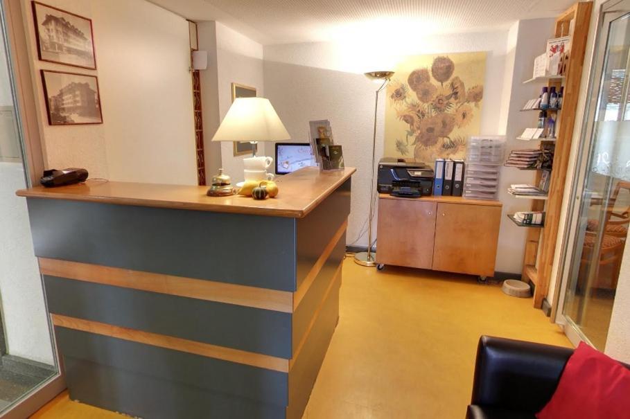 Lobby/Rezeption in der Unterkunft Hotel im Rhyhof