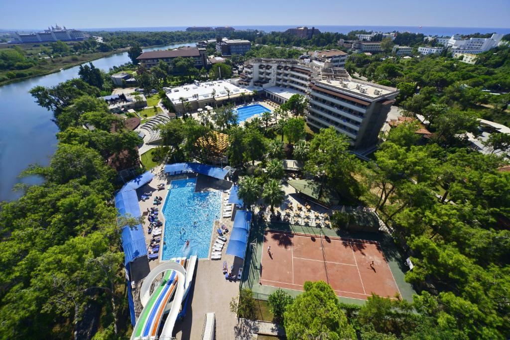 Linda Resort Hotel с высоты птичьего полета