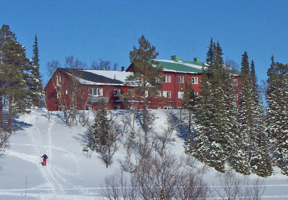 STF Storliens Fjällgård under vintern