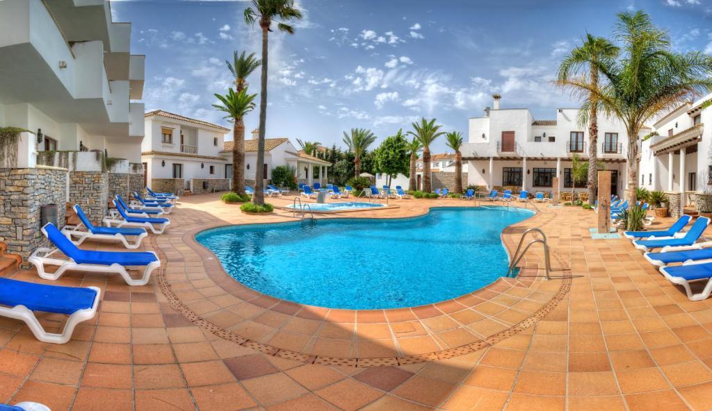 The swimming pool at or near Hotel Porfirio