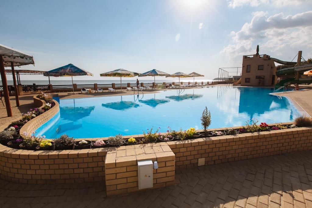 The swimming pool at or near Zolotoye Runo