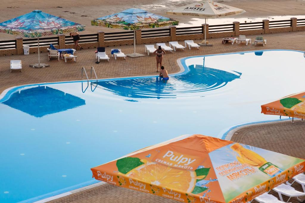 A view of the pool at Zolotoye Runo or nearby