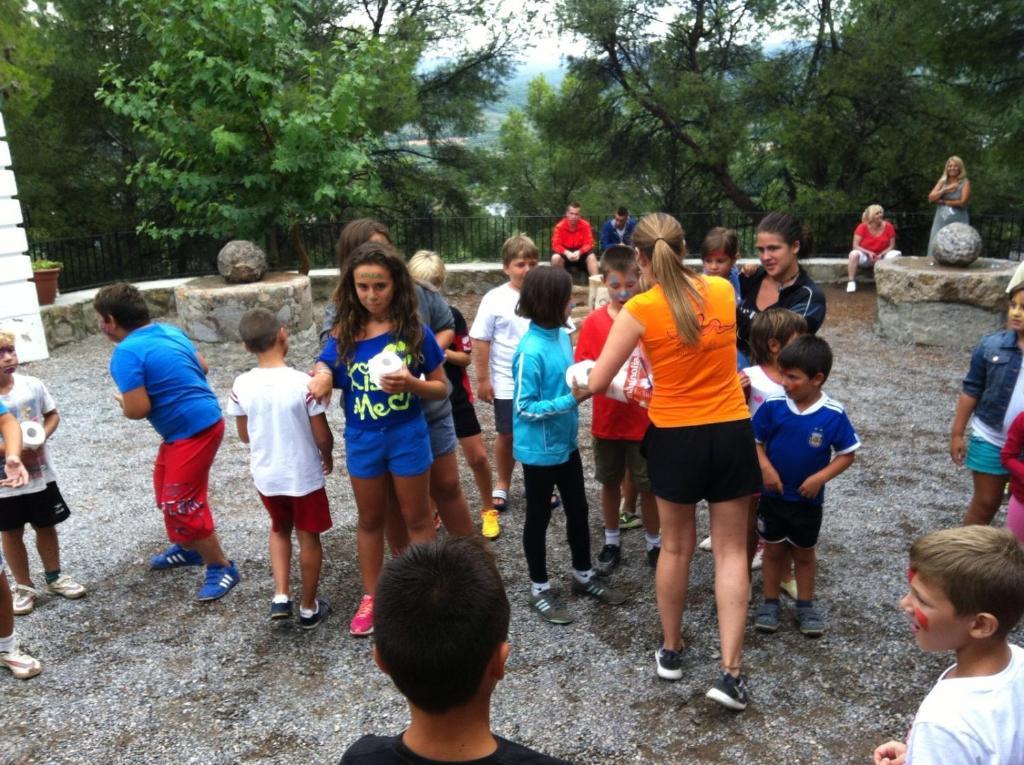 Niños alojados en Camping San Blás