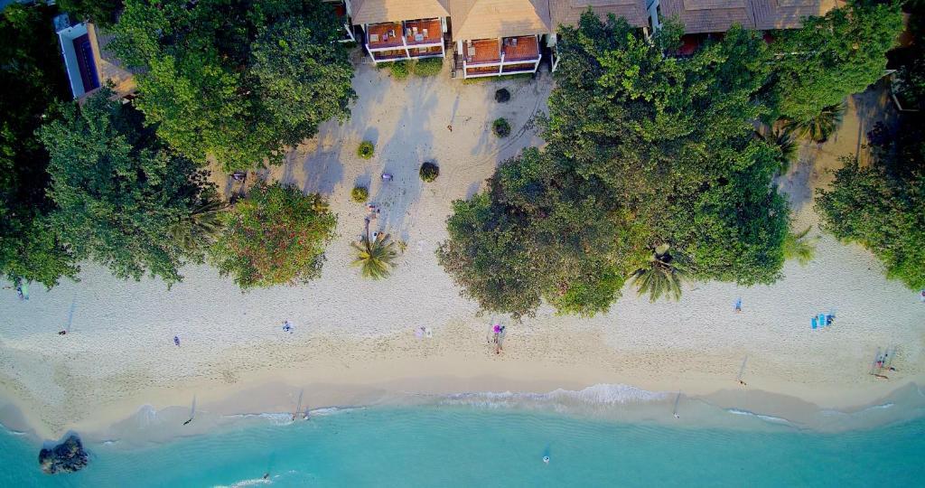 Siam Beach Resort с высоты птичьего полета