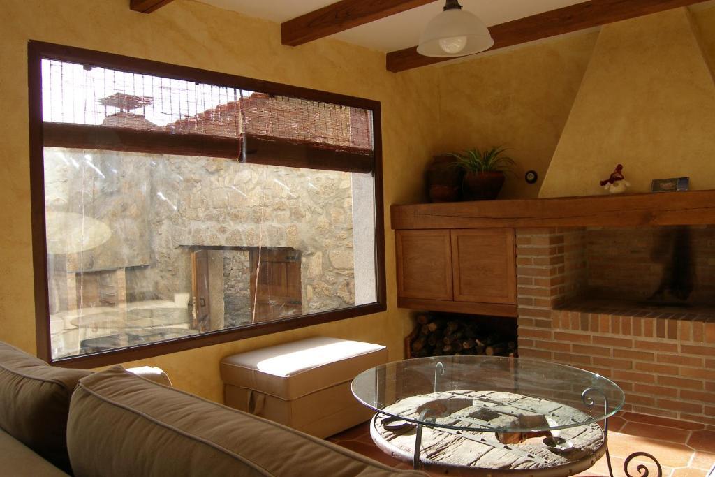 Zona de estar de Casa Rural El Zahorí De Pinedas