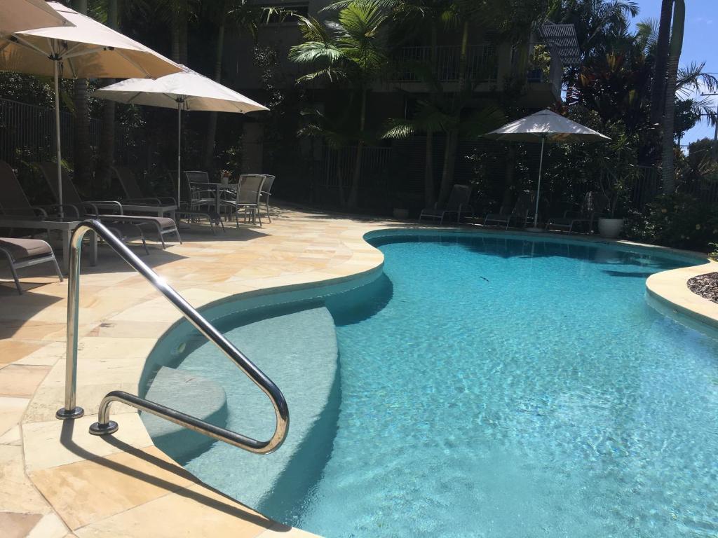 The swimming pool at or near Metzo Noosa Resort