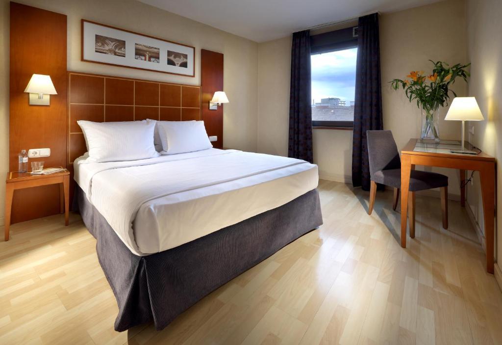 Ένα ή περισσότερα κρεβάτια σε δωμάτιο στο Exe Vienna