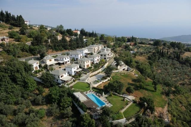 Άποψη από ψηλά του Valeni Boutique Hotel & Spa