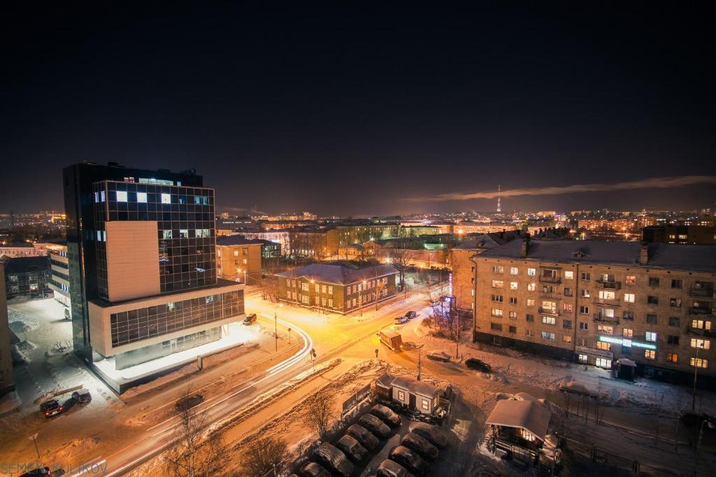 Apartment On Lyzhnoy с высоты птичьего полета